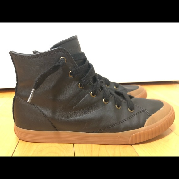 Tretorn Shoes   Marley Leather Hightop